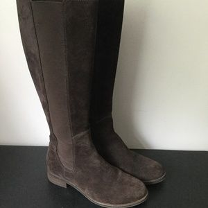 Cole Haan Brown Suede leather knee high boots 8M
